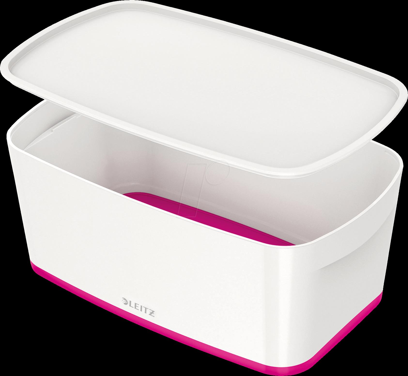 leitz 52291023 leitz mybox kleine aufbewahrungsbox mit. Black Bedroom Furniture Sets. Home Design Ideas
