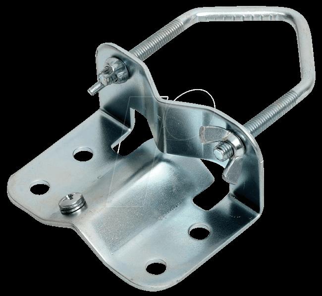 MASTFUSSSCHELLE - Schelle für Rohre bis 60mm
