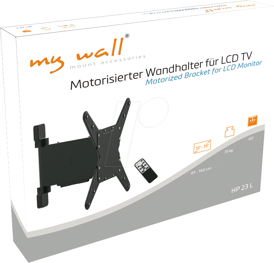 Motorisierte TV Wandhalterung, 32   55 MYWALL HP 23 L