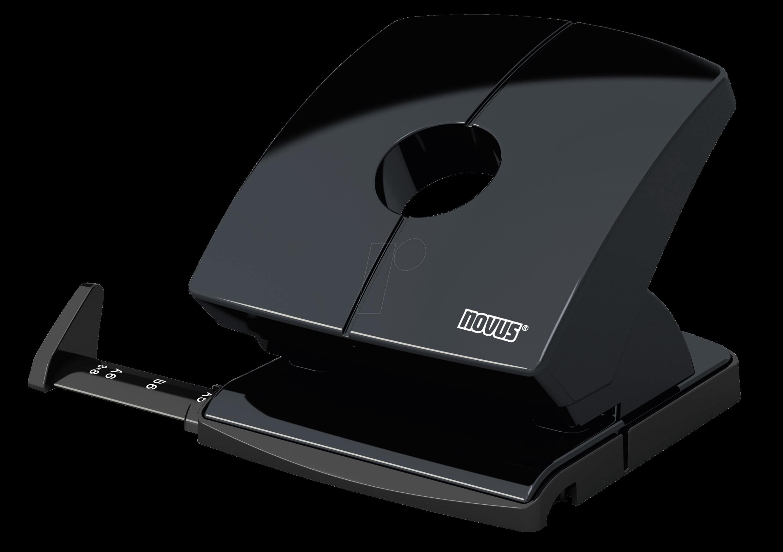 NOVUS 025-0614 - Locher, schwarz glänzend