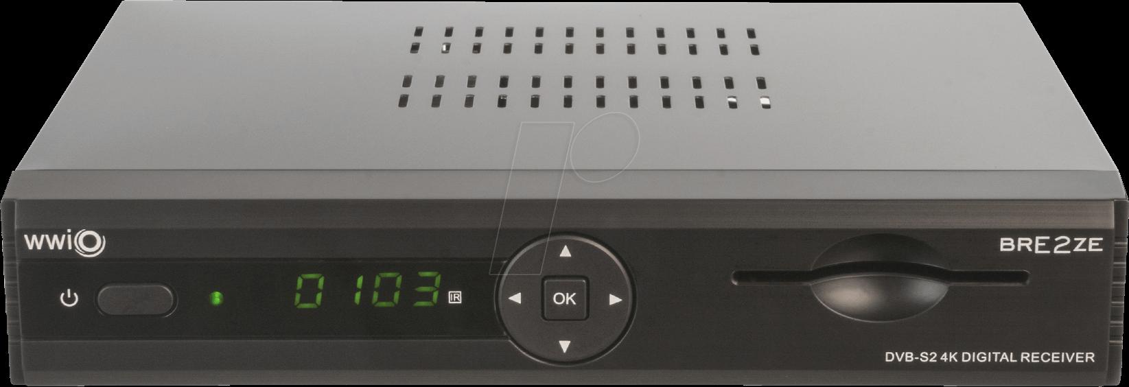 WWIO WCR100101 - Receiver, SAT, DVB-S2, Linux, PVR