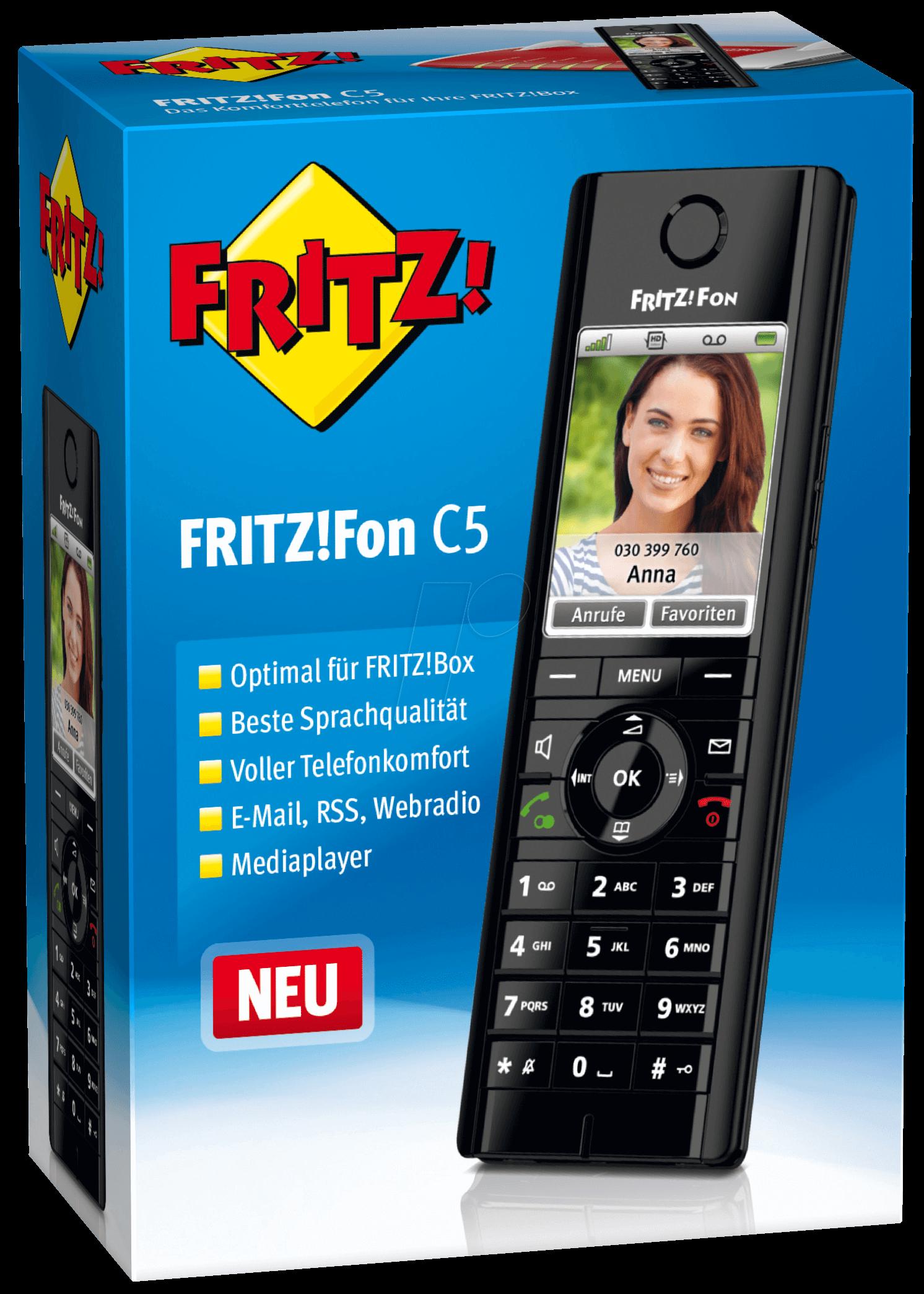 AVM FRITZFON C5: AVM FRITZ!Fon C5