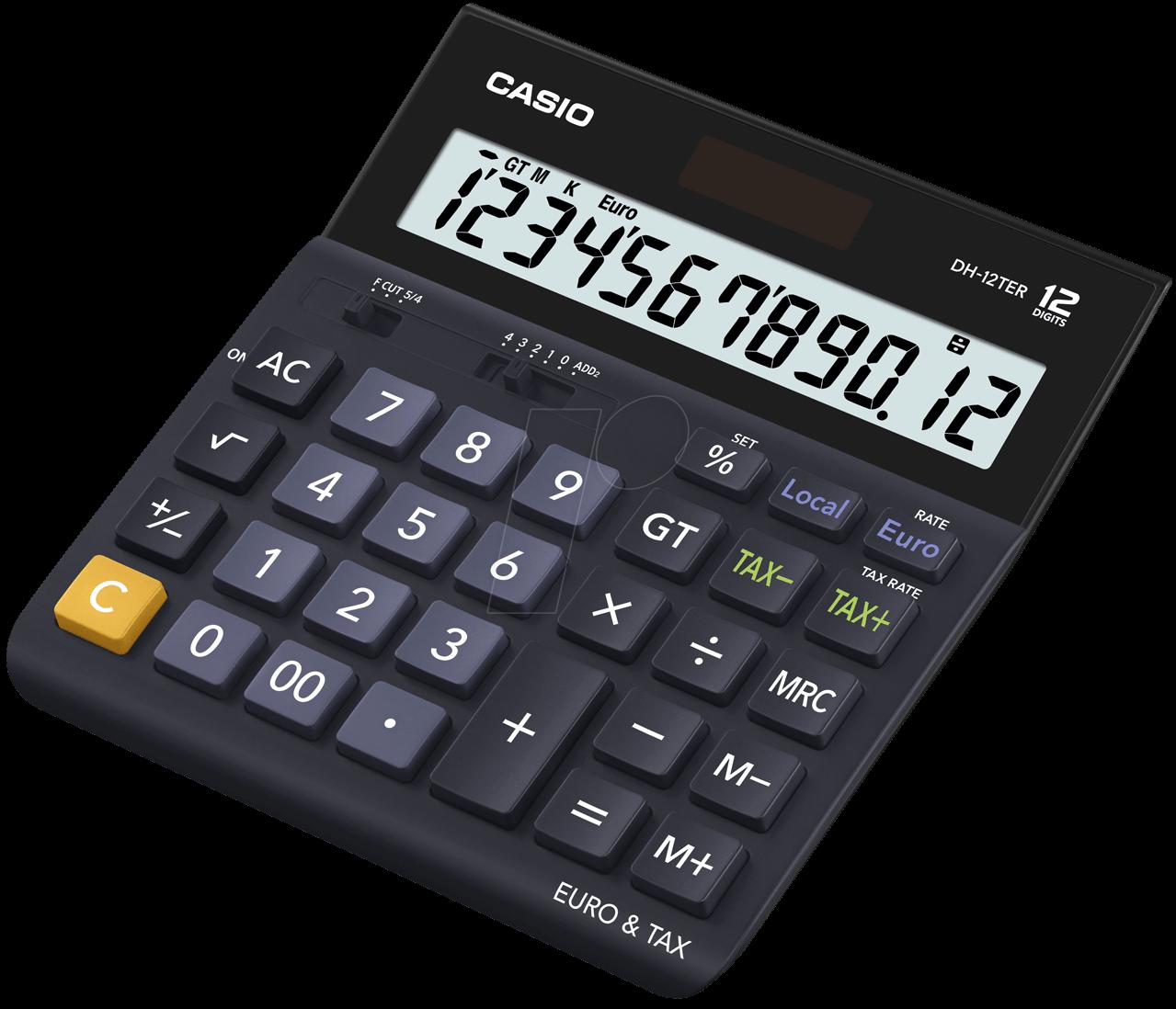 CASIO DH-12TER: Casio desk calculator at reichelt elektronik