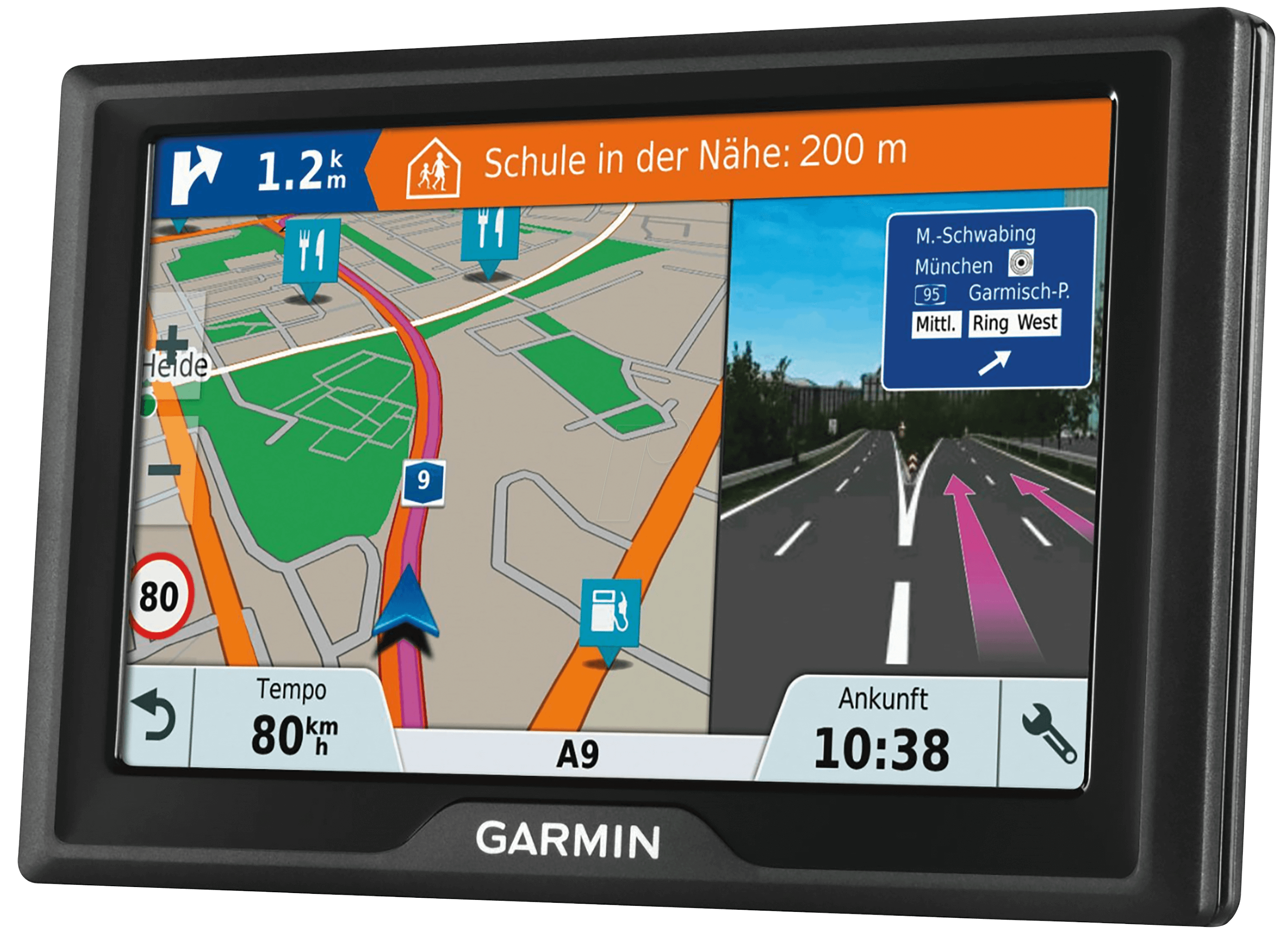 garmin d51ce gps navigator 12 70 cm 5 at reichelt. Black Bedroom Furniture Sets. Home Design Ideas