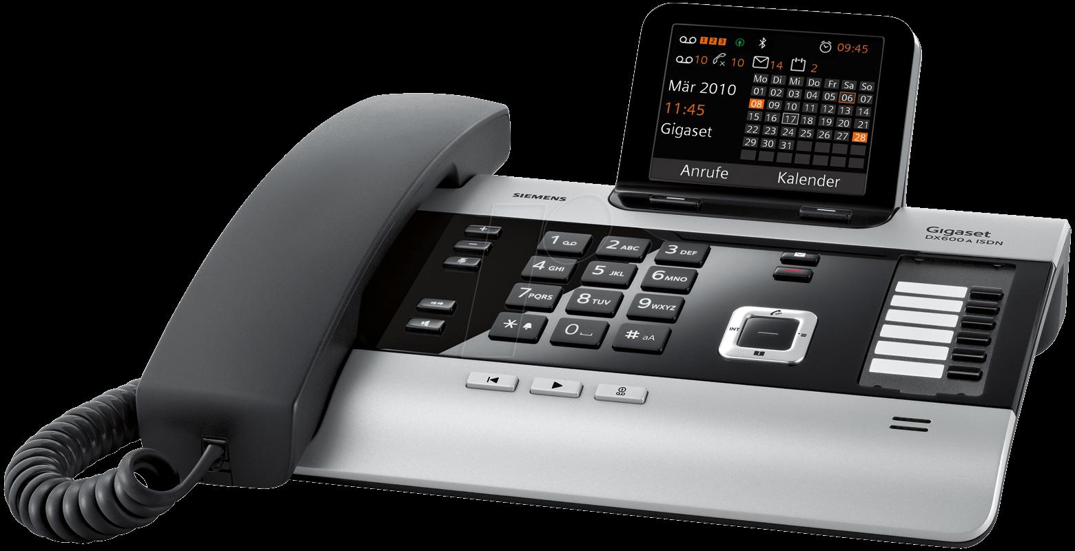 GIGASET DX600A - ISDN Telefon mit Anrufbeantwor...
