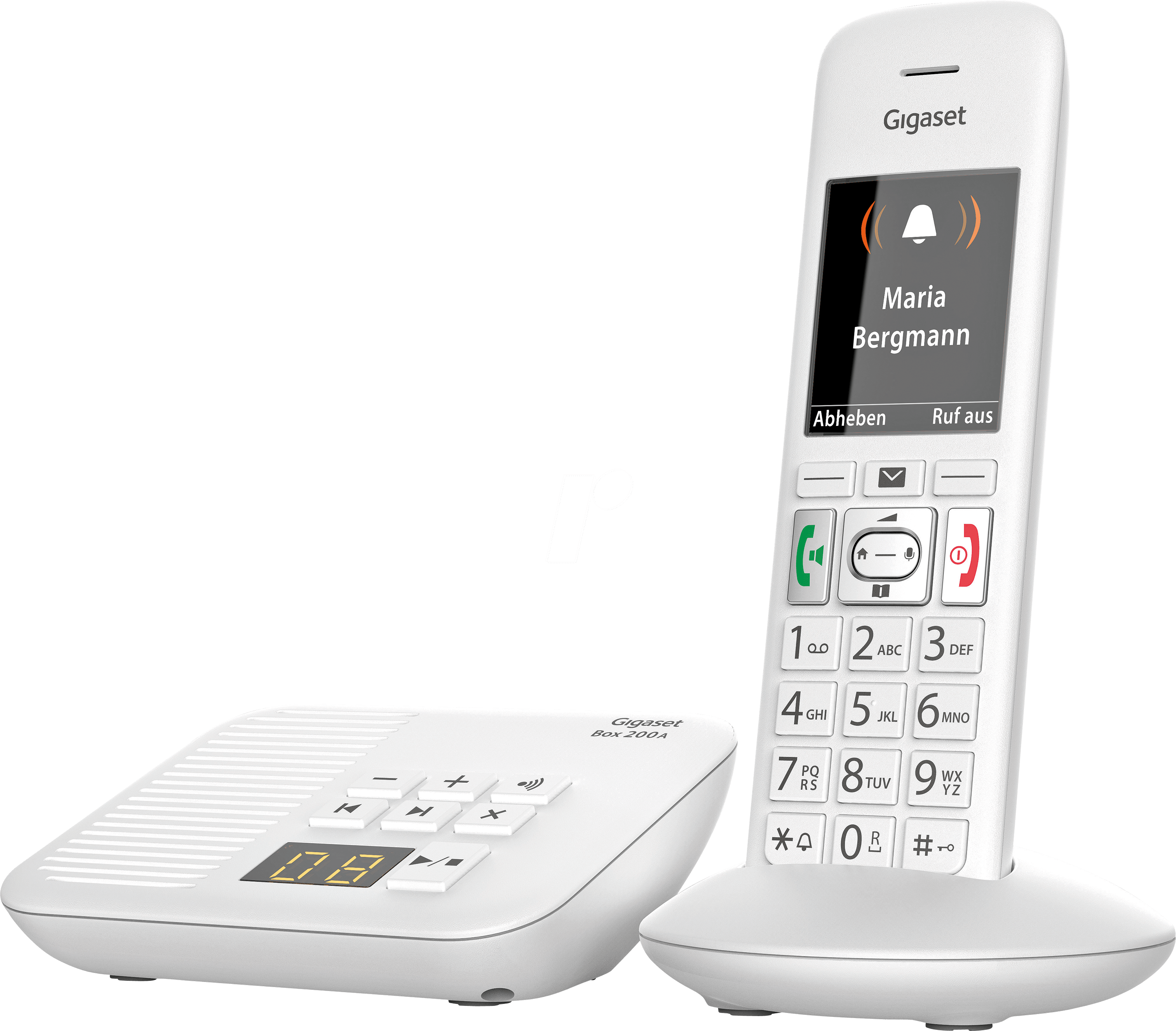 gigaset e370a dect telefon 1 mobilteil mit basis und ab. Black Bedroom Furniture Sets. Home Design Ideas