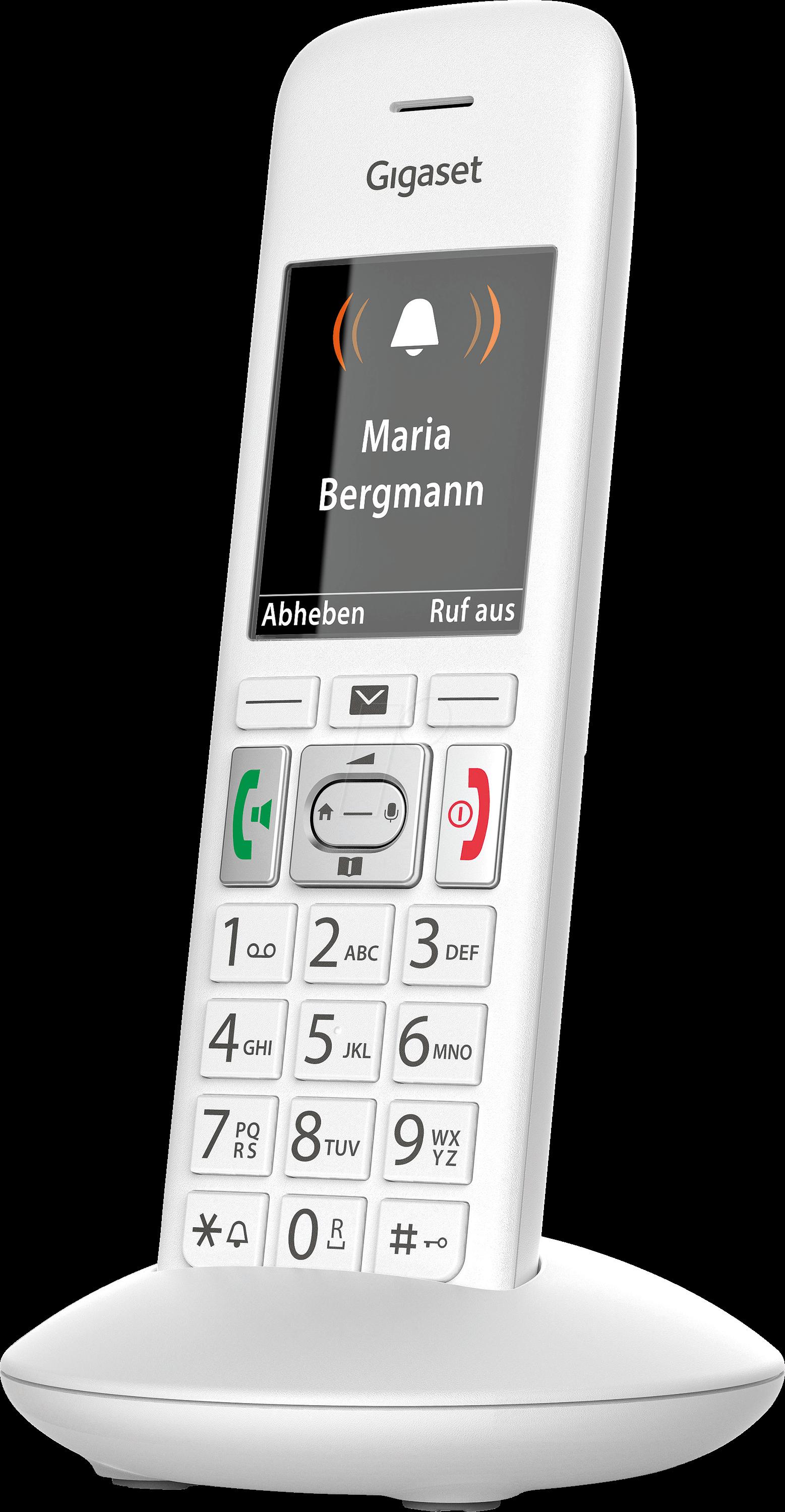 gigaset e370hx dect telefon 1 mobilteil mit ladestation. Black Bedroom Furniture Sets. Home Design Ideas