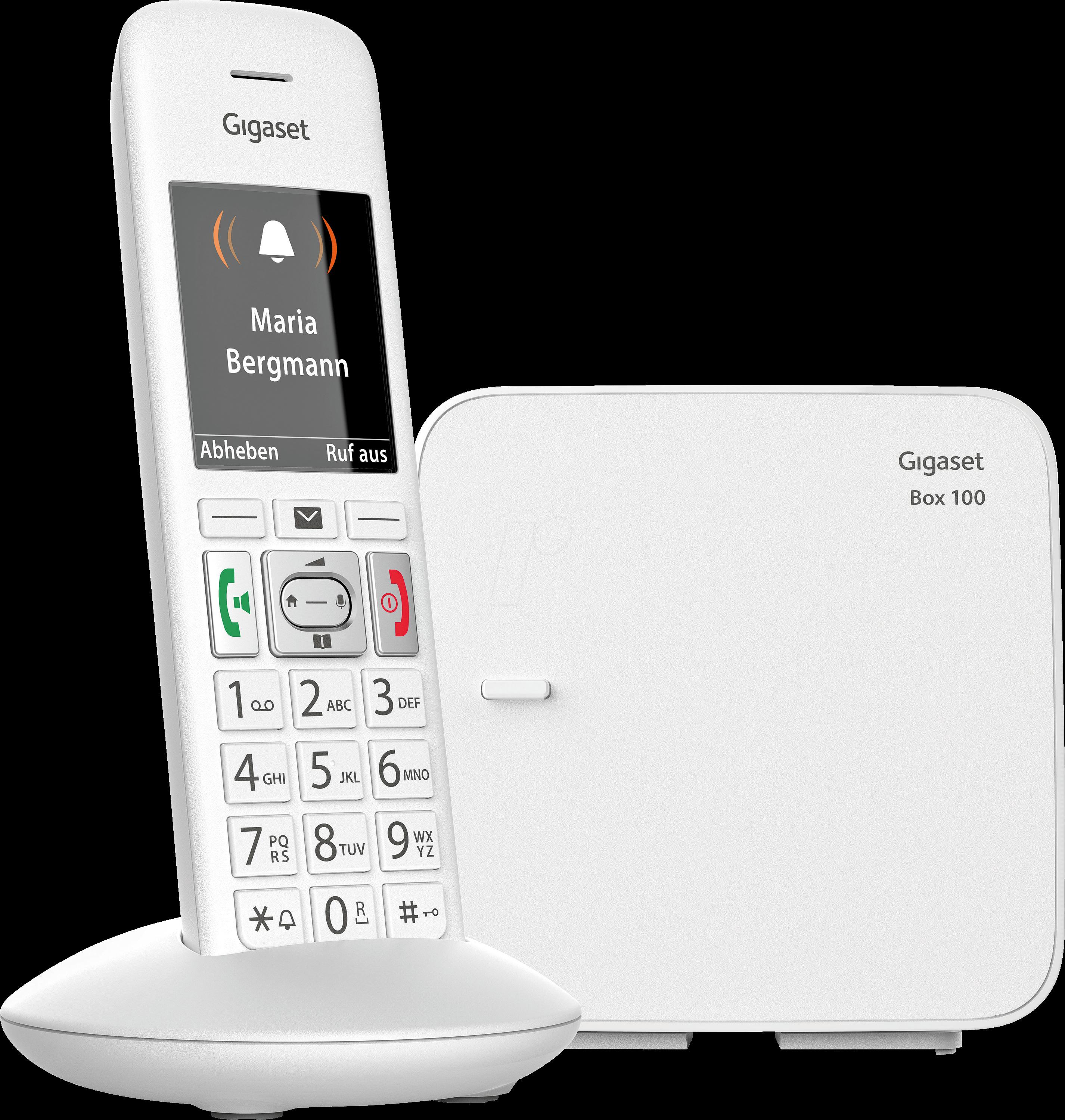 gigaset e370 dect telefon 1 mobilteil mit basis bei. Black Bedroom Furniture Sets. Home Design Ideas