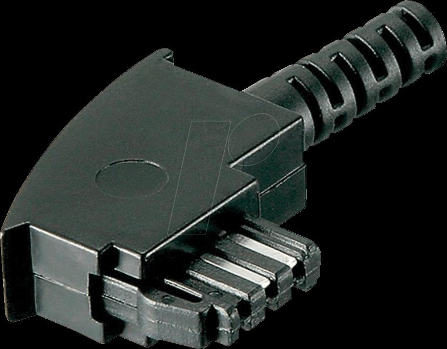 TAE 6F-S - TAE Stecker, F kodiert