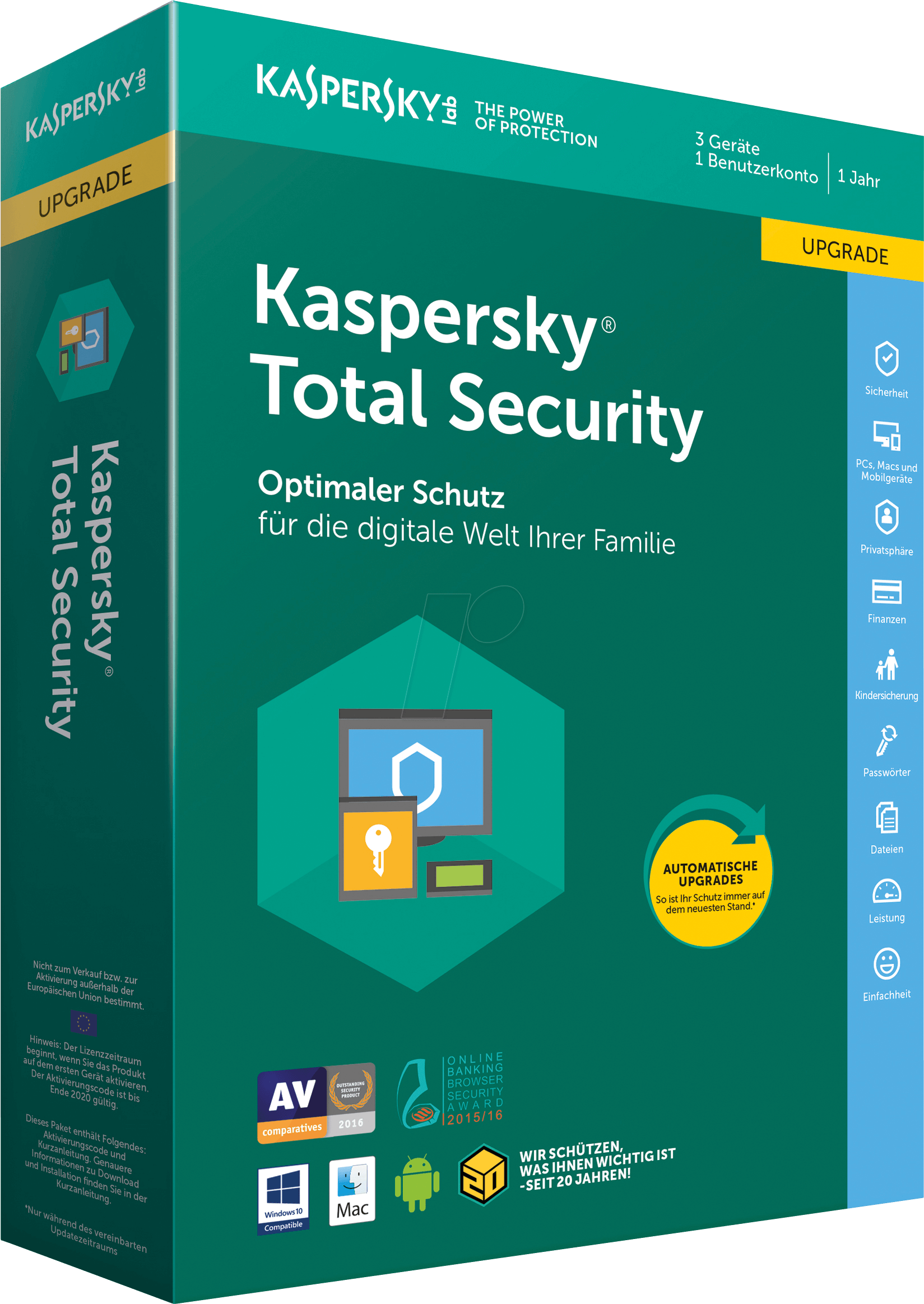 KAS TS2018 UP - Software, Total Security 2018, ...