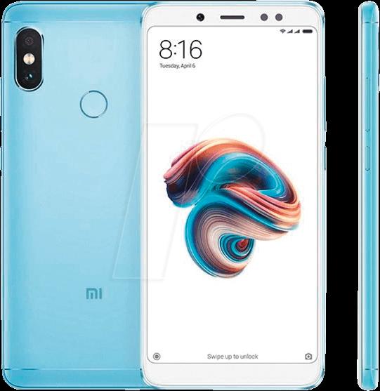 XIA 603245 - Redmi Note 5, 64GB, blau, Global V...