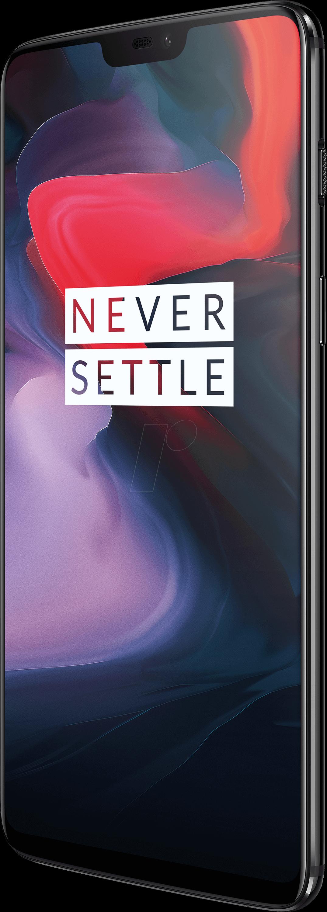 6 128 - OnePlus 6, 128GB, mirror black EU