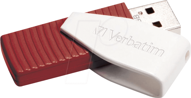 VERBATIM 49814 - USB-Stick, USB 2.0, 16 GB, Swivel