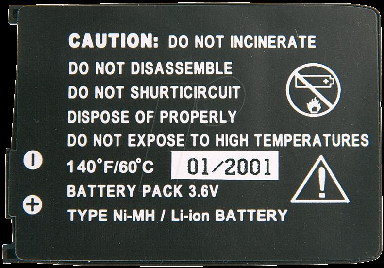 HCP 47-S - Ersatzakku für Siemens, C35 / C35i / S35, NiMh, 500 mAh