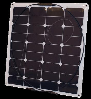 PHAE SF 55 - Solarpanel Semi Flex 55, 32 Zellen...