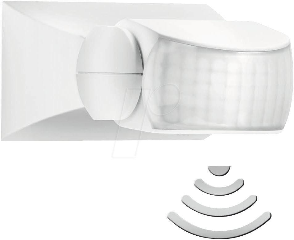 STEINEL 600310: STEINEL IS 1 infrared motion detector, white at ...
