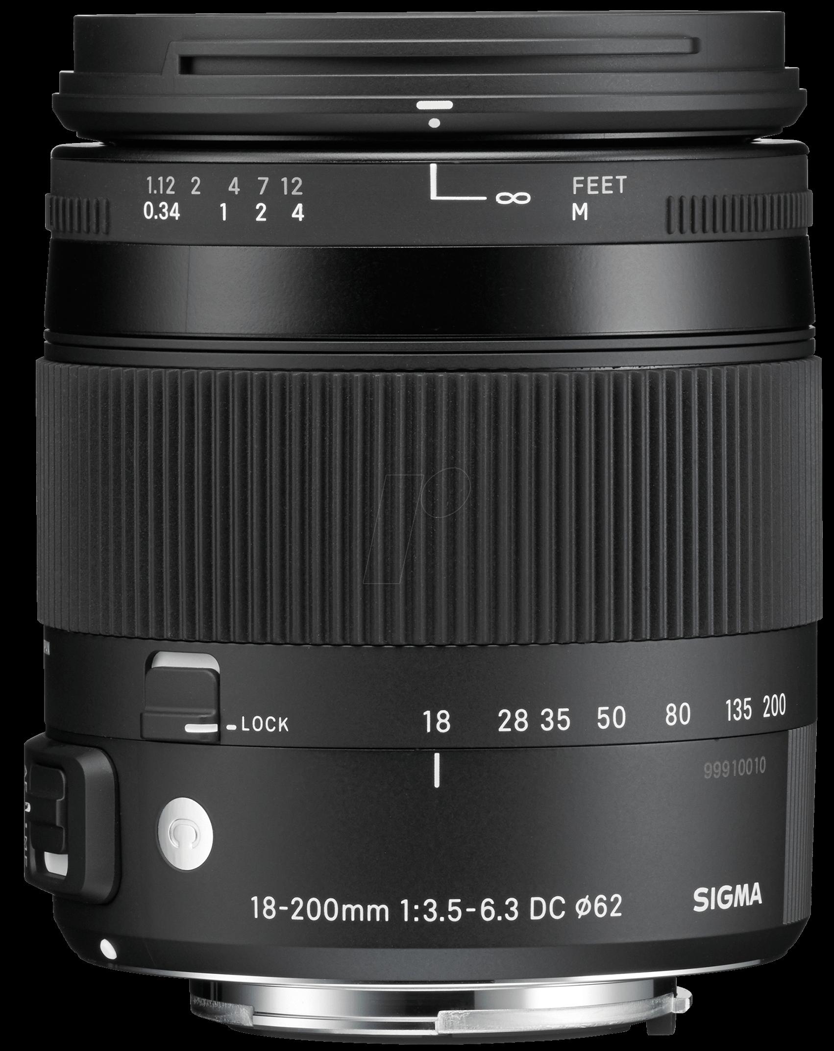 SIGMA 885955 - Objektiv, Foto, 18-200mm, F3,5-6...