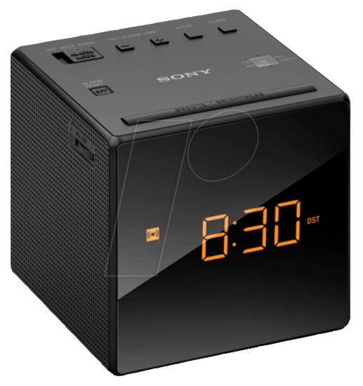 SONY ICF-C1B - MW/UKW-Uhrenradio