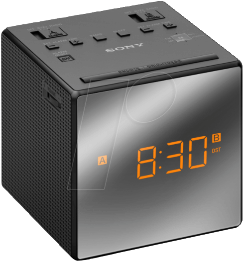 SONY ICF-C1TB - MW/UKW-Uhrenradio