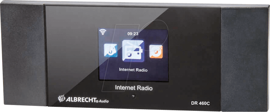 Albrecht DR460C - Internet-Radio-Adapter