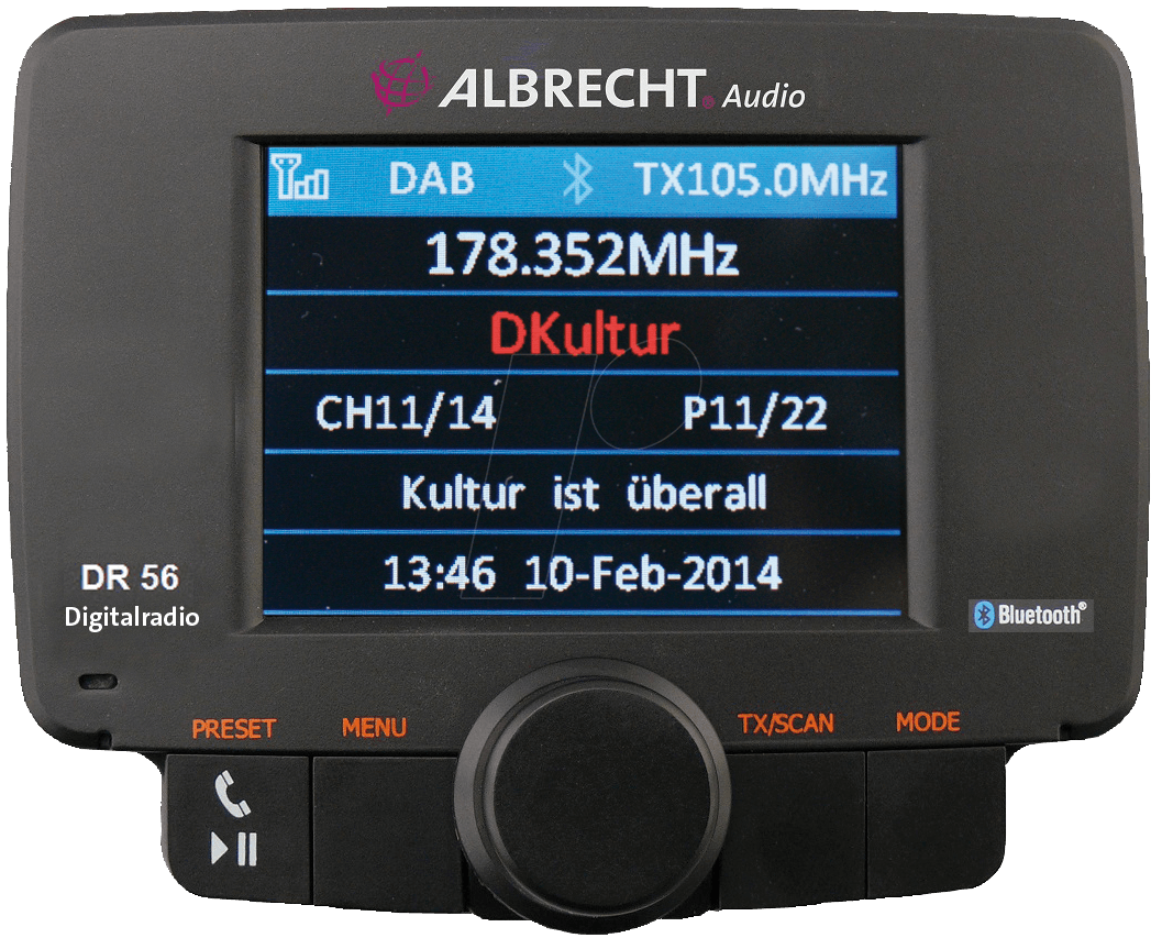 albrecht dr56 digitalradio autoradio adapter bei reichelt. Black Bedroom Furniture Sets. Home Design Ideas