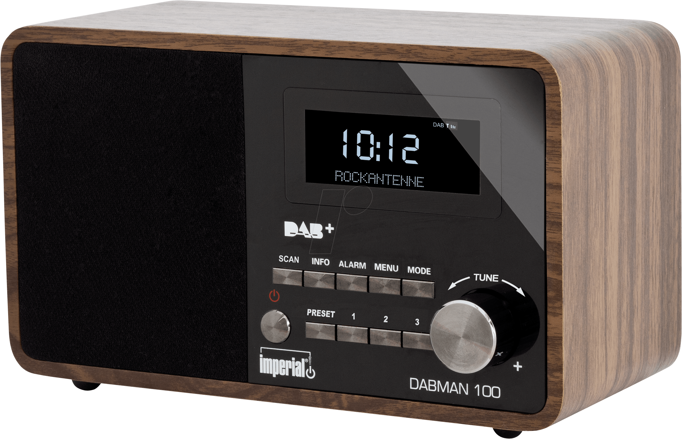 dabman 100nb dab dab ukw radio bei reichelt elektronik. Black Bedroom Furniture Sets. Home Design Ideas