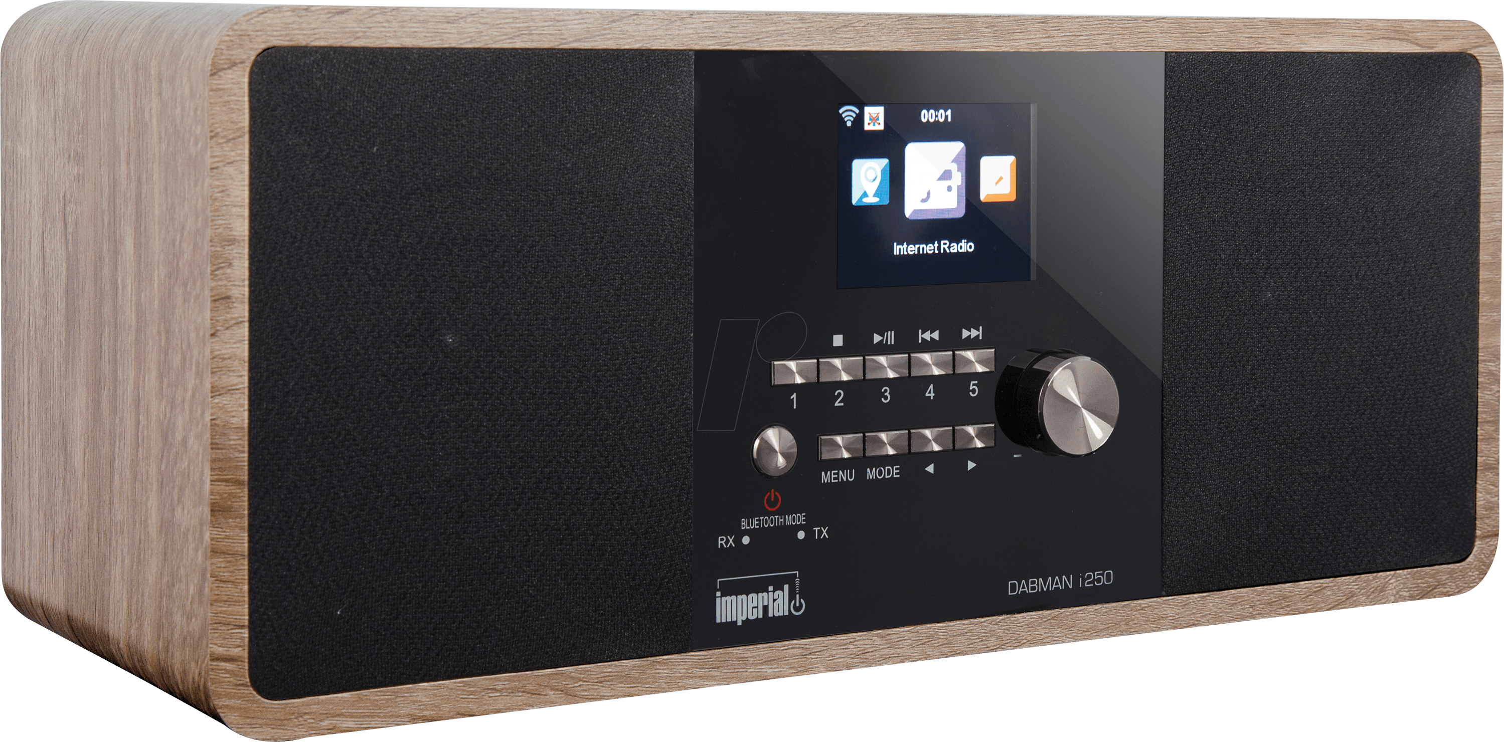 DABMAN I250VI - Hybrid Stereo Radio mit BT-Empf...