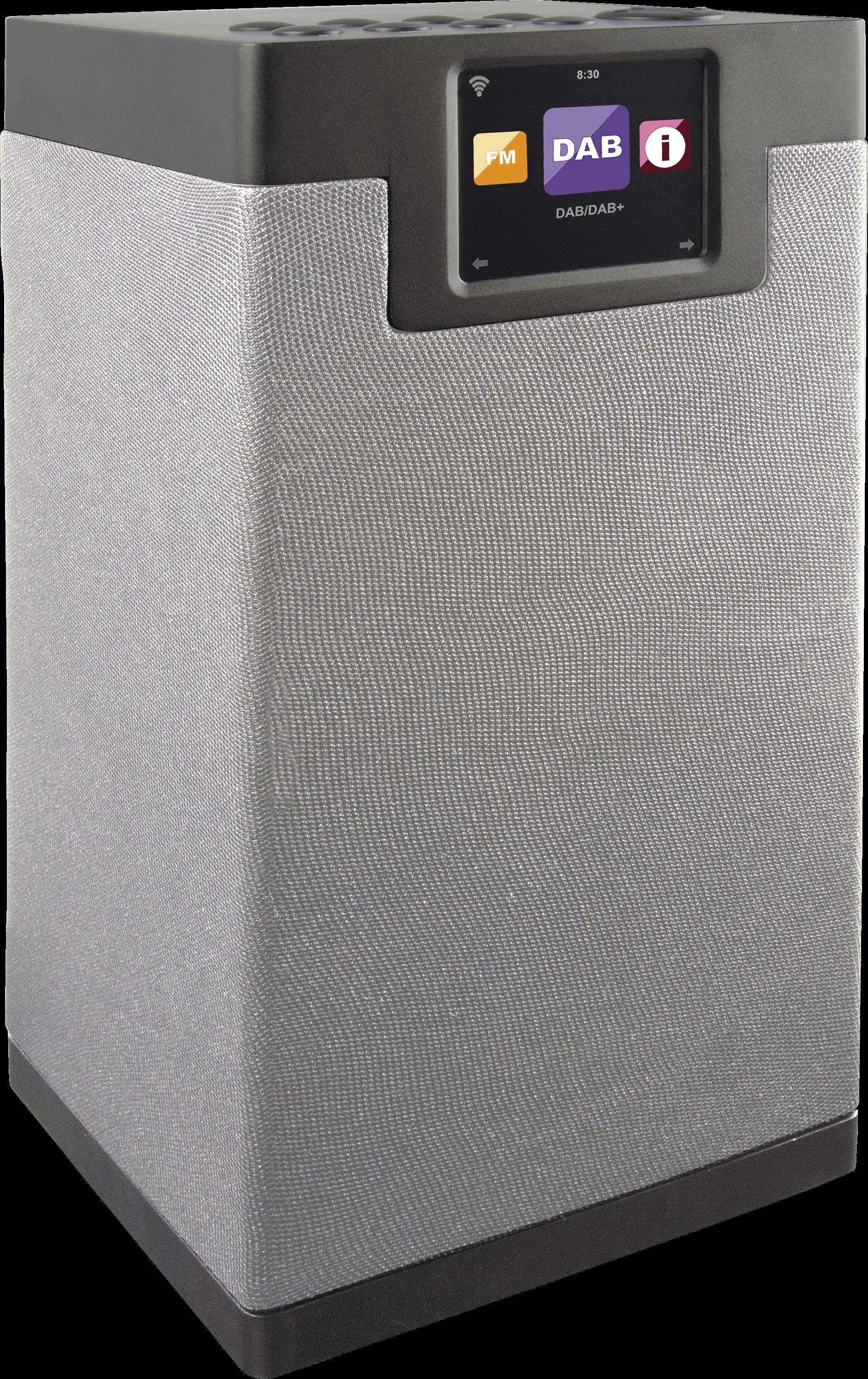 DABMAN I600GR - Tower 2.1 Hybrid Radio