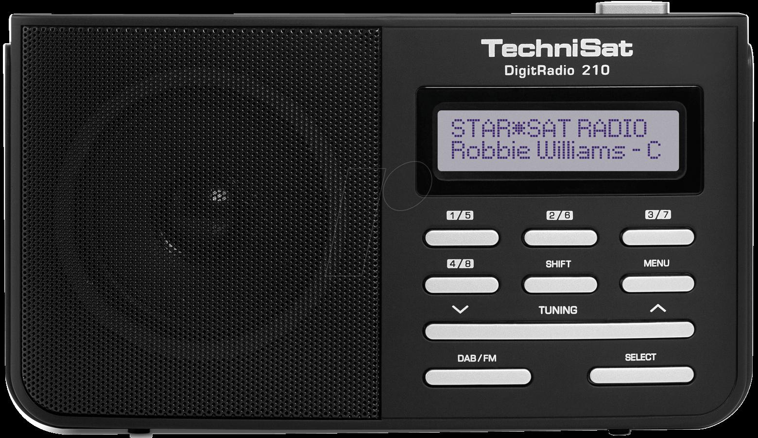 DIGITRADIO 210 - DAB/DAB+ und FM-Empfänger
