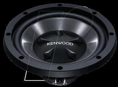 KW KFC-W112S - Subwoofer, 30 cm, 800 W