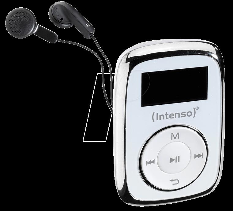 INTENSO 3614562 - MP3 Player 8GB