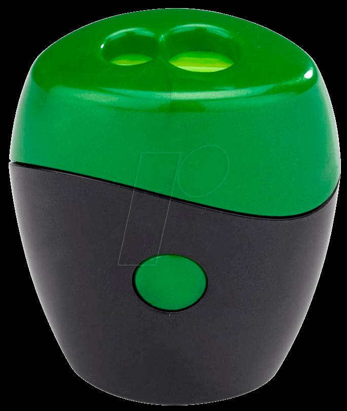 SPITZER SWING GN - Doppelspitzer schwarz/grün