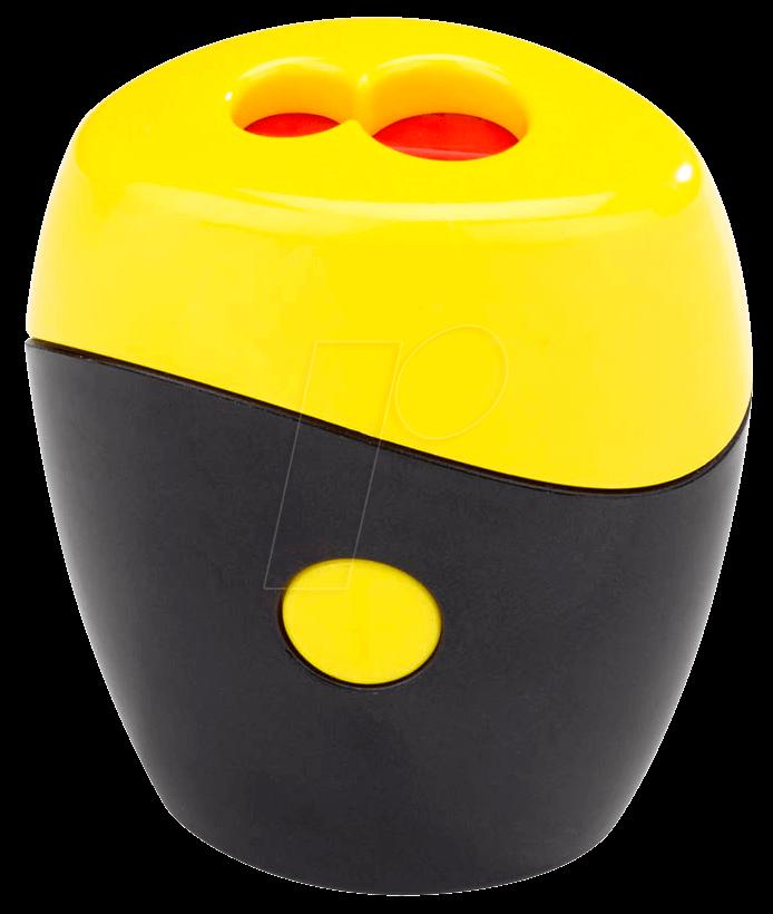 SPITZER SWING GE - Doppelspitzer schwarz/gelb