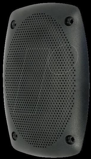 VIS 4745 - Schutzgitter aus schwarzem Kunststoff