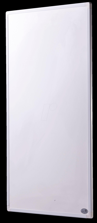 KH P-130 WS - IR-Panel, 130 W, 420 x 520 x 10 mm, weiß