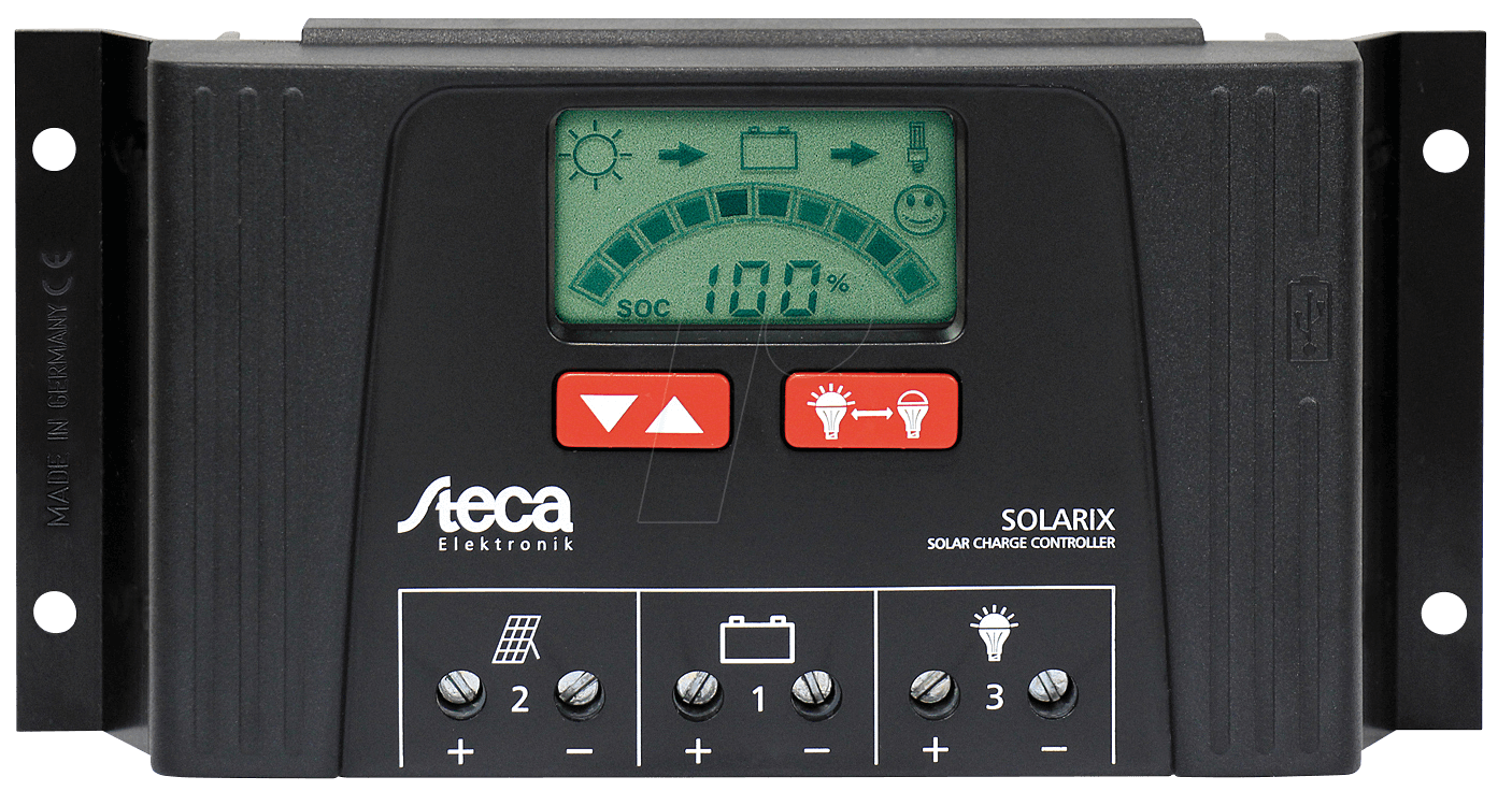 Solarix 2525 Solar Charge Controller At Reichelt Elektronik Battery Charger With Overcharge Protection Electronic Steca