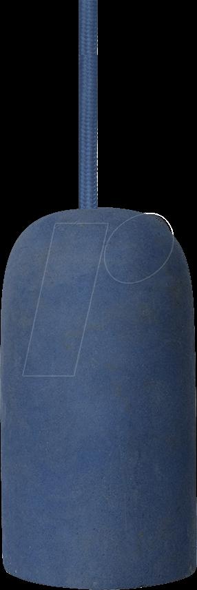VT-3744 - Hängeleuchte, 60 W, rund, blau