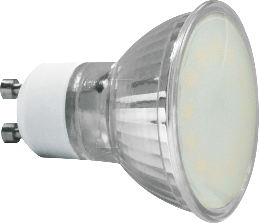 GL 3820: LED-Lampe GU10, 6 W, 480 lm, 3000 K bei reichelt elektronik