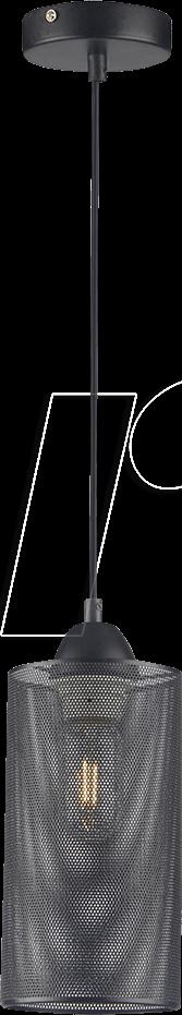 VT-3828 - Hängeleuchte, 60 W, rund, schwarz