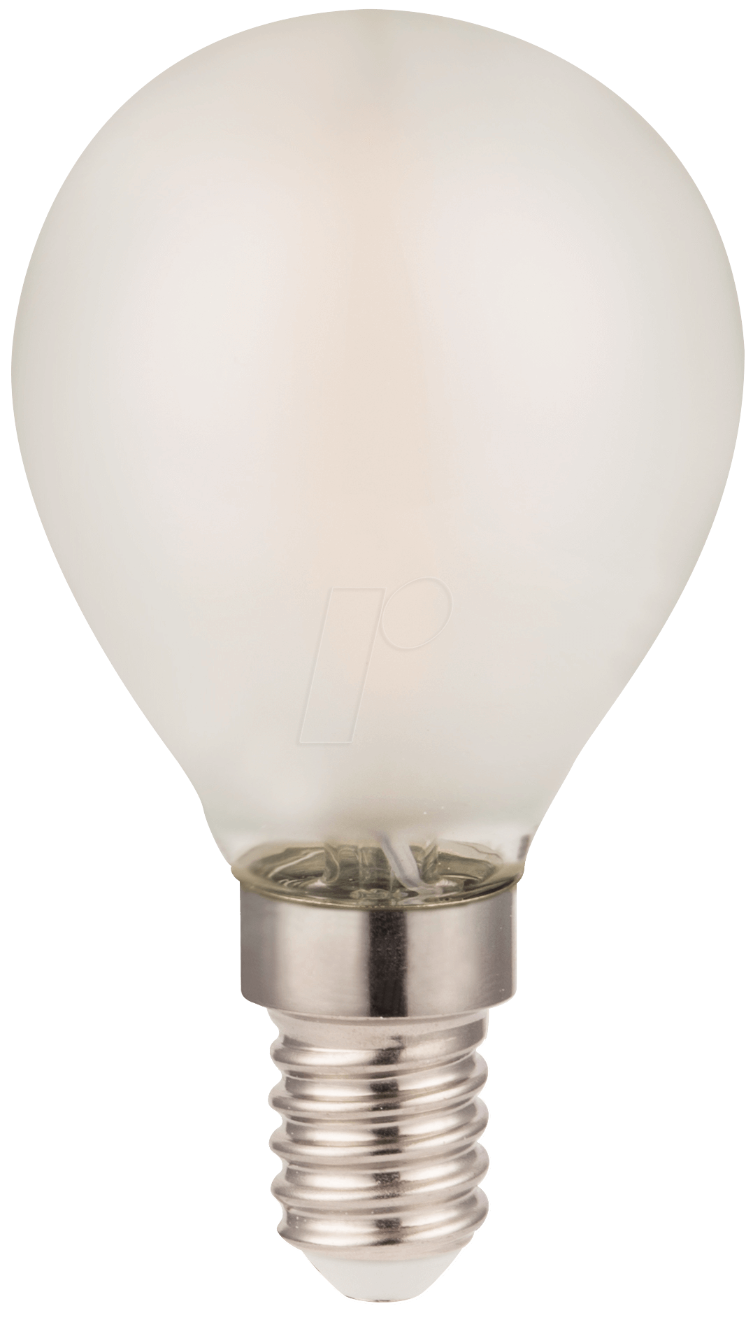egb 539 720 filament led bulb p45 frosted e14 2w 240lm 2700k at reichelt elektronik. Black Bedroom Furniture Sets. Home Design Ideas