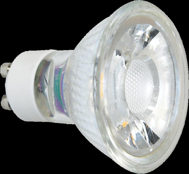GL GU10 3570 - LED-Strahler GU10, 3 W, 225 lm, 3000 K