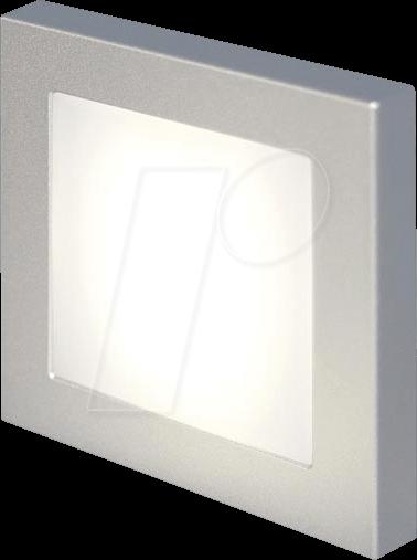 PROCAR 57403500 - Ambiente LED-Deckenleuchte, 8 - 30 V DC, 1 W, 3200 K, eckig