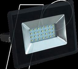 VT-5947 - LED-Flutlicht, 20 W, 1700 lm, 4000 K, schwarz