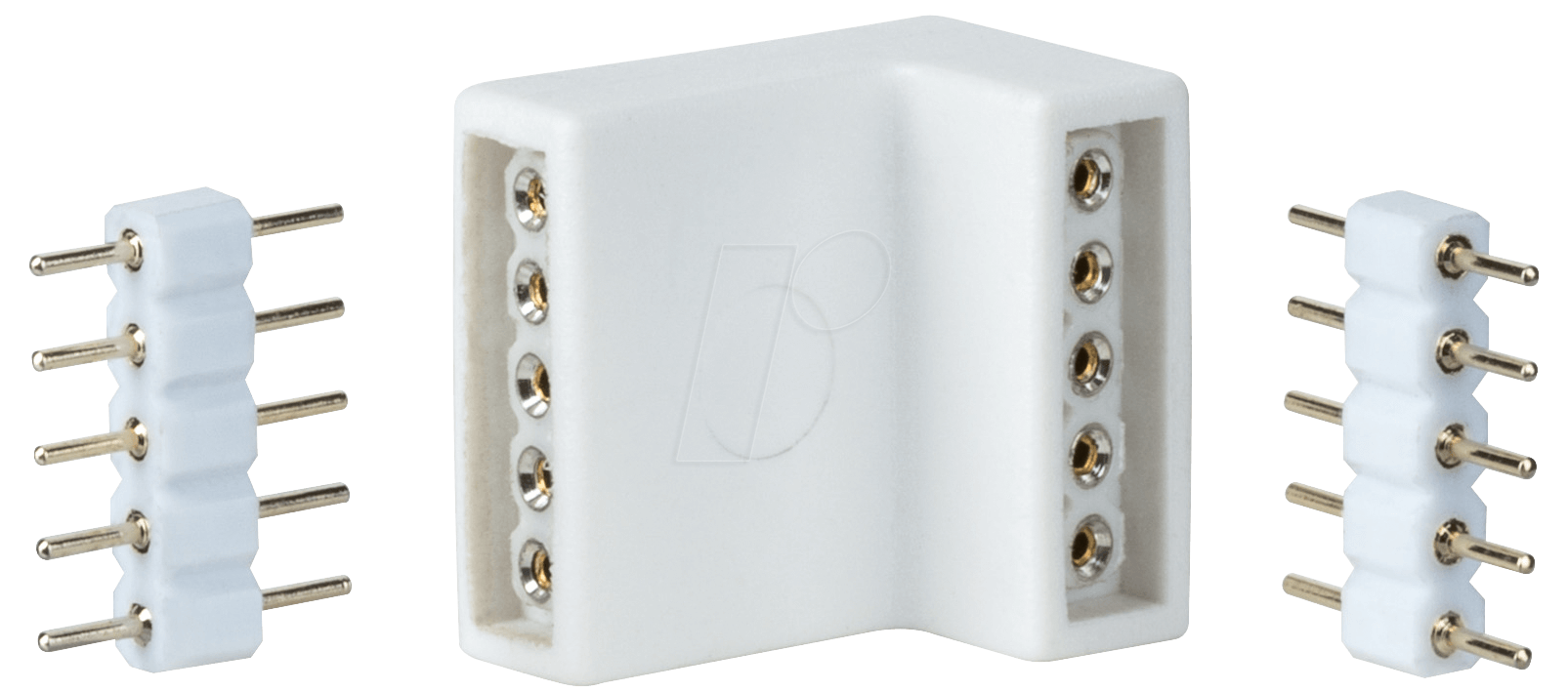 PLM 70615 - Eckverbinder für LED-Streifen MaxLED, 4er-Pack