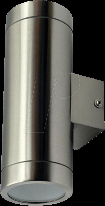 VT-7507 - Wandleuchte, 0 W, silber, IP44