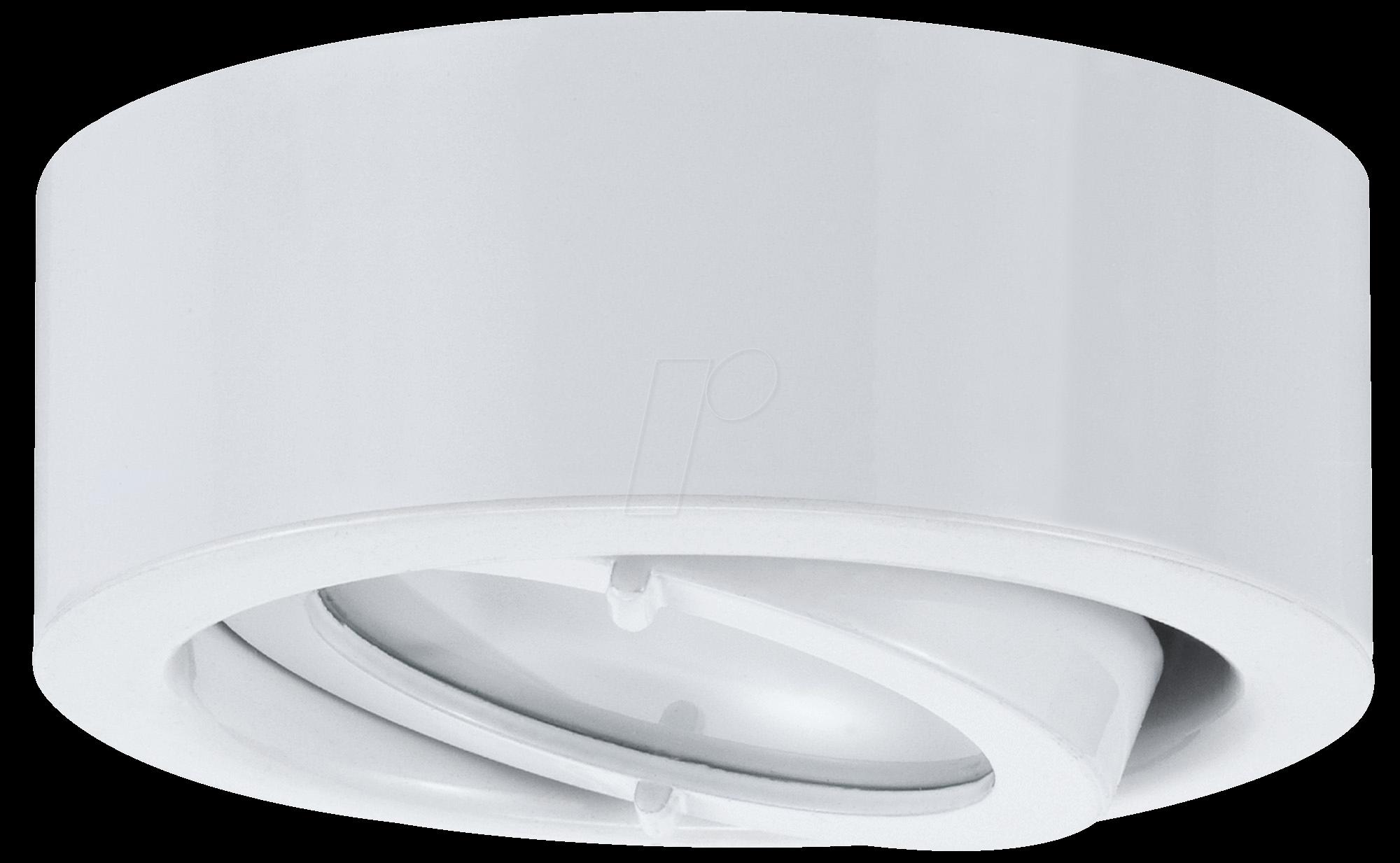 PLM 93509 - Möbelaufbauleuchte MicroLine, 20 W, rund, weiß