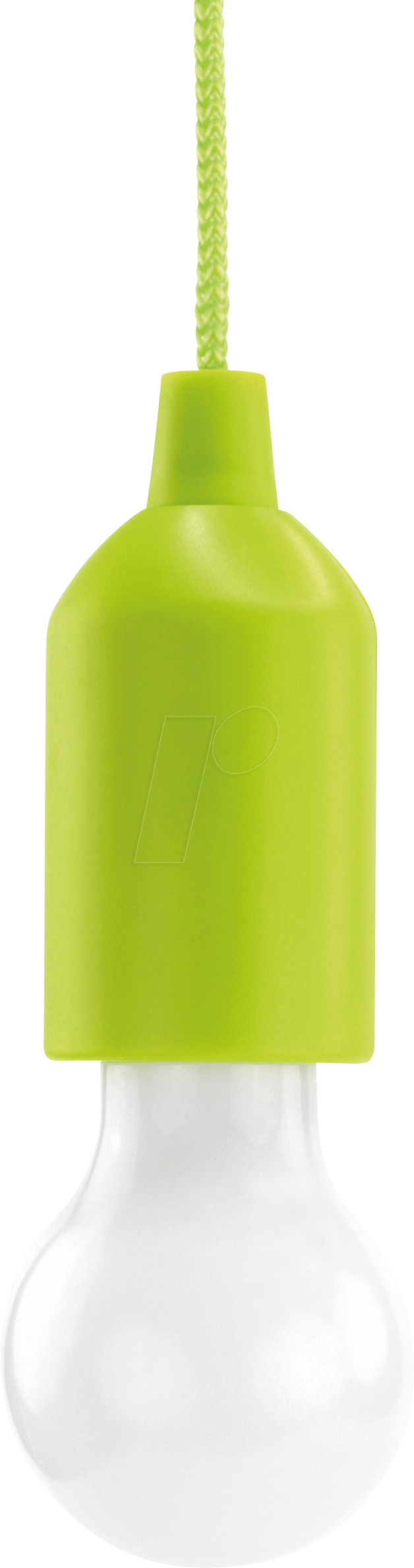ANS 1600-0175 - Pendelleuchte mit Batterie, PL1W, 25 lm, grün 3x AAA (Micro)