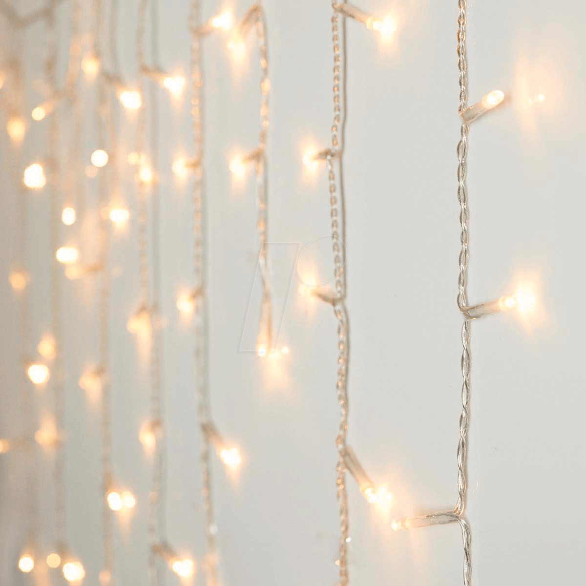 LED Lichtervorhang, Eiszapfen, 180 LEDs
