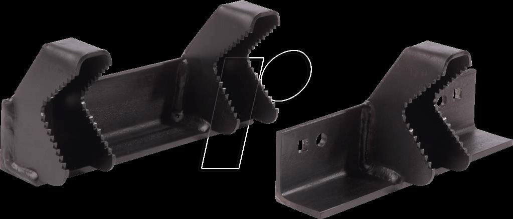 BATAVIA 7061291 - Werkbank, Spannsystem, Croc Lock, Rohrspannbacken