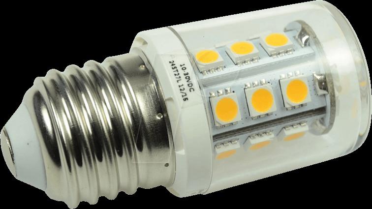 Led Lampen E27 : Dio led24st27l: led lampe e27 2 6 w 290 lm 3000 k 12 30 v bei